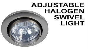 halogen puck lights under cabinet recessed halogen 12v light with swivel cabinet lighting youtube