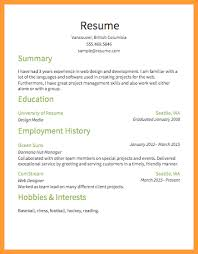 Best Simple Resume Template Basic Simple Resume Template Douglas Maher Resume