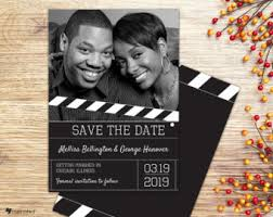 movie save the date etsy