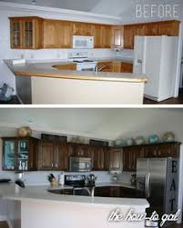 refinish cabinets without sanding how to easily refinish kitchen cabinets without stripping off the
