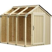 hopkins shed kit with peak roof farmhouse inspired pinterest