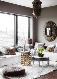 deco canape marron idee deco salon marocain photo et charmant idee deco salon cosy avec