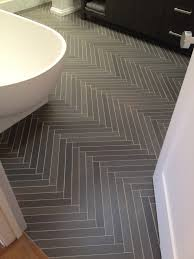 amazing herringbone slate tile treatment in bath home garden