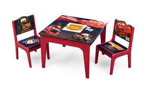 Table And Chairs Set Delta Children Cars Kids 3 Piece Table And Chair Set U0026 Reviews