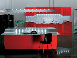 Red Kitchen Decor Ideas by Wonderful Kitchen Design Red Intended Decorating
