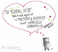 the thankful heart ღ opens our eyes to a multitude of blessings