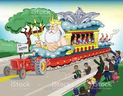 mardi gras parade floats mardi gras parade float stock vector more images of activity