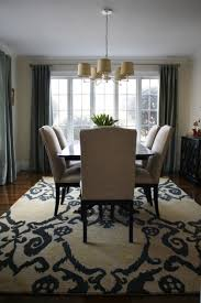 Dining Room Rugs Rugs Over Carpet Yay Or Nay Fancy Inspiration - Carpet in dining room