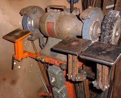 new rests for bench grinder 8 steps