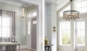 Foyer Lighting Modern Warmth Brushed Nickel Foyer Light U2014 Stabbedinback Foyer