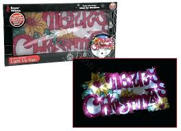 led merry christmas light sign outdoor lighted merry christmas sign awesome light up online get