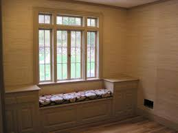 kitchen bay window bench decor window ideas