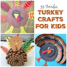 53 terrific turkey crafts for kids family food and travel