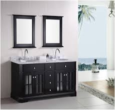 bathroom monica espresso bathroom vanity set with mirror and