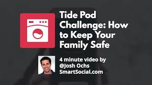 Challenge How To Tide Pod Challenge How To Keep Your Family Safe