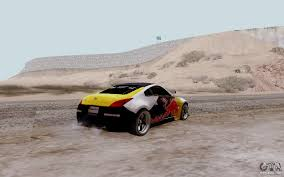 red nissan 350z nissan 350z red bull for gta san andreas