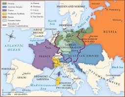 map of europe images the european revolutions of 1848 history