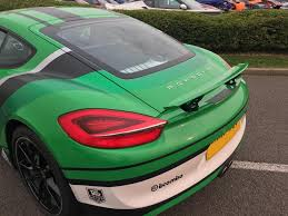 porsche cayman green used 2015 porsche cayman 24v pdk for sale in northamptonshire