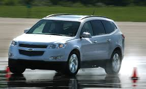 chevrolet traverse blue 2009 chevrolet traverse awd short take road test reviews car