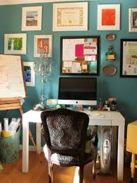 Office Wall Decorating Ideas For Work How To Work With Turquoise To Create Chic Interior Designs