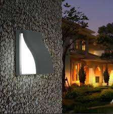 Outdoor Wall Sconce Modern 16w Led Post Lights Terrace Balcony Aisle Corridor Waterproof