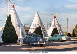 Classic Motel Wreck Classic Car In Desert Stock Photos U0026 Wreck Classic Car In