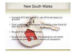 new home buyers grant home owners grant australia 2015