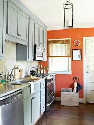 orange kitchen ideas burnt orange kitchen white cabinets photogiraffe me
