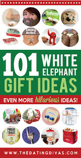 white elephant gift gift ideas