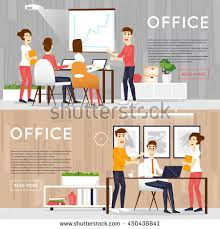 how to start an interior design business from home working on computer programmer stock vector 563884705