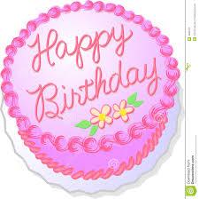 pink birthday cake royalty free stock photography image 4949727