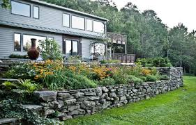 Stone For Garden Walls by Ulster County Ny Garden With Raised Stone Beds Gayle Burbank