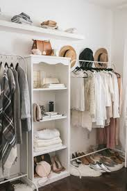 No Closet Solution by Open Closet Ideas For Small Spaces