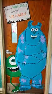 Classroom Door Decorations For Halloween 59 Monsters Inc Classroom Door Decoration Orange Teacher
