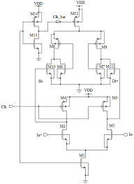 design of high speed and low offset dynamic latch comparator in