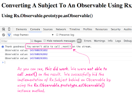 rxjs tutorial github converting a subject to an observable using rxjs in angular 2
