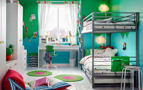 chambre d enfant bleu chambre bébés enfants ikea
