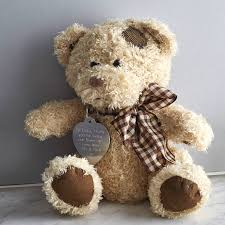 personalised teddy in a tin by warner u0027s end notonthehighstreet com