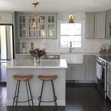 Light Brown Kitchen Cabinets The 25 Best Gray Kitchen Cabinets Ideas On Pinterest Grey