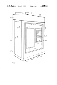 patent us4497261 security enclosure for an automatic teller
