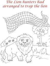 net lion coloring kids