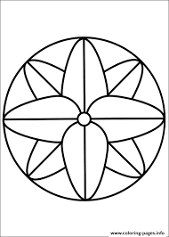 print easy simple mandala 68 coloring pages dyeing to try
