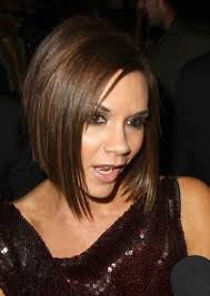 graduated bob with fringe hairstyles graduated bob victoria beckham hairstyles weekly