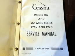 1969 1970 cessna 182 skylane service manual u2022 109 81 picclick