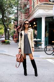 sweater dress cool ways to wear the sweater dress trend