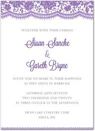 wedding announcement template purple wedding invitation template amulette jewelry