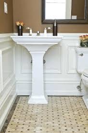 wainscoting bathroom ideas bathroom wainscot shaker style wainscoting panel bathroom tile