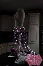 led wire christmas tree decorations ideas dress form shabby paints