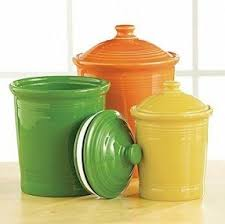 orange kitchen canisters foter
