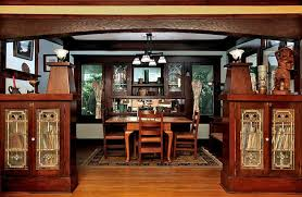 Bungalow Dining Room 1913 Craftsman Bungalow In Venice California Oldhouses Com